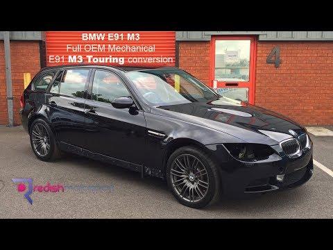 BMW E91 M3 - Full OEM mechanical M3 Touring conversion