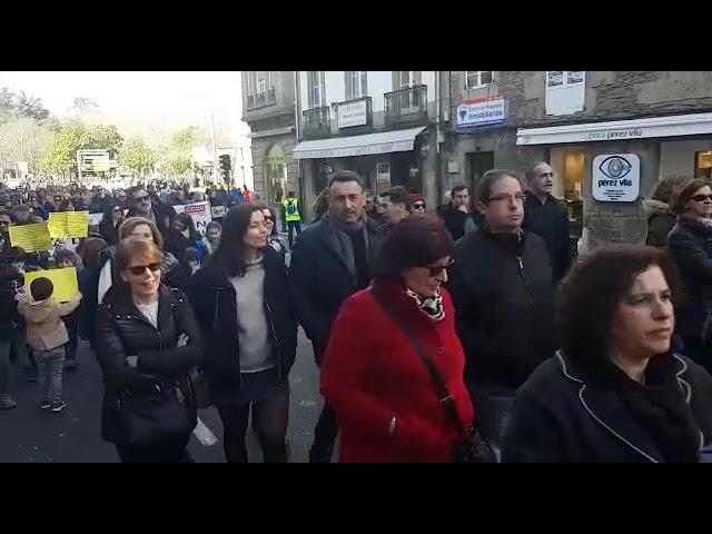 """Clamor en Compostela a favor de la """"igualdad"""" laboral y salarial en el sector de la Justicia"""