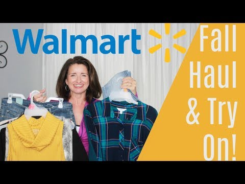 Walmart Fall Haul & Try On 2019 Over 40