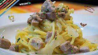409 - Spaghetti tonno fresco e limone..e riprendi il timone! (primo piatto estivo facile e veloce) )