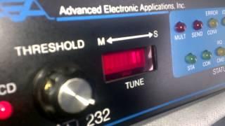 ham radio TNC AEA PK-232MBX navtex reception and decode at 519 kHz