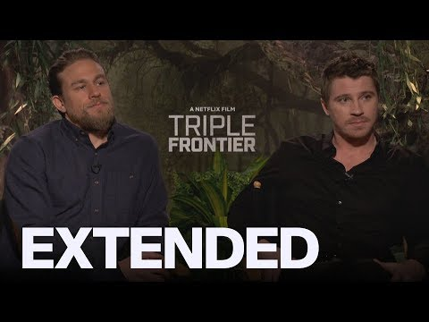 Charlie Hunnam, Garrett Hedlund 'Triple Frontier' Bromance | EXTENDED