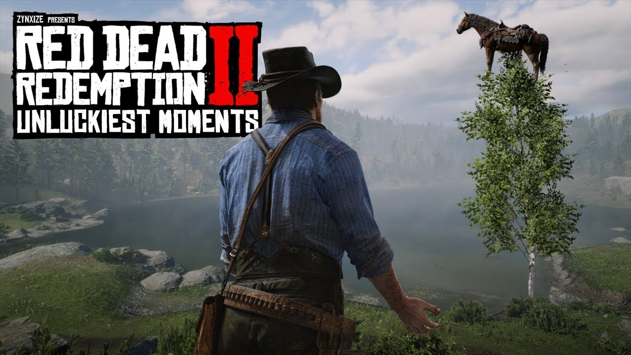 When Red Dead Redemption 2 Hates You #4 (RDR2 Unlucky Moments) thumbnail