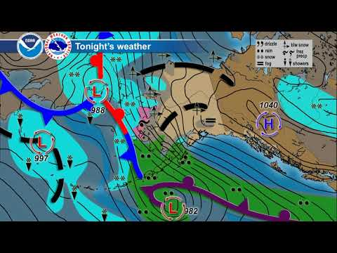 December 22, 2017 Alaska Weather Daily Briefing