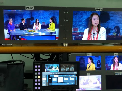 TV talk-show on the situation of sexual violence against women in Viet Nam