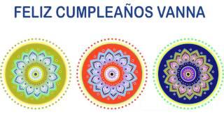 Vanna   Indian Designs - Happy Birthday