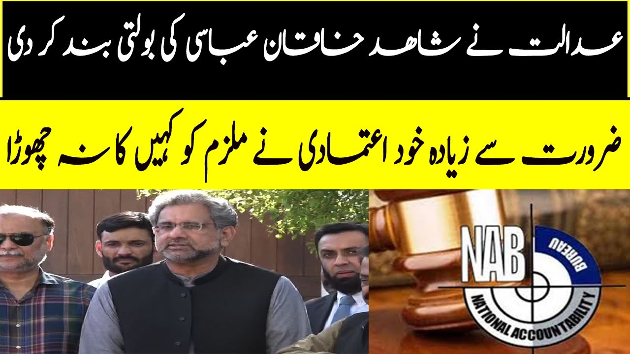 Details of Hearing of LNG reference against Ex PM Shahid Khaqan abasi in NAB Court..corrupt mafia..