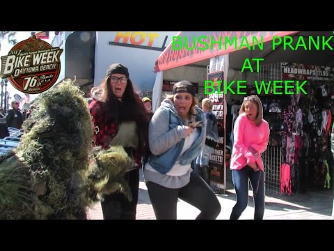 BUSHMAN PRANK AT BIKE WEEK #2