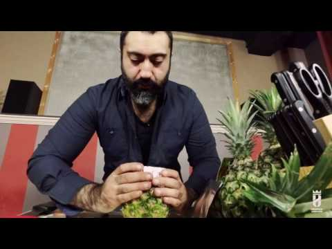 [ How To ] HUtv #2 | Carve/Prepare a Pineapple Bowl for Hookah (1080p)