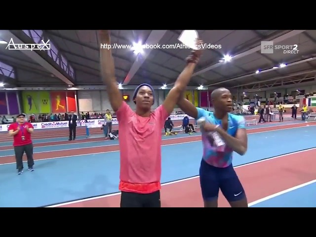 Luvo Manyonga 8.40m indoor AR & WL Metz Athlelor 2018