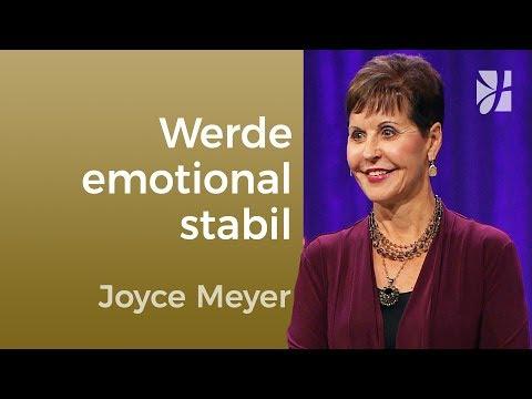 Schluss mit Stimmungsschwankungen (1) – Joyce Meyer – Gedanken und Worte lenken