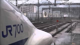 開業40年! 山陽新幹線 新下関駅 発車・通過詰め合わせ