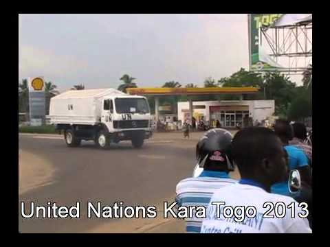 What a United Nations Convoy Looks Like in Africa