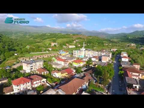 Bashkia Klos. pamje me dron nga qyteti klos 2017