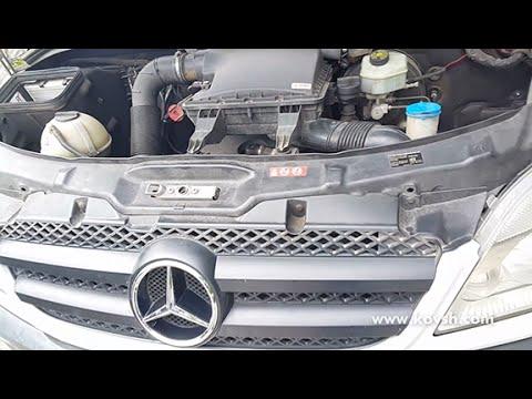Стук вакуумного насоса на Mercedes-Benz Sprinter с двигателем OM651