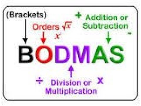Vbodmas, Rule Of Vbodmas,vbodmas Ruls Tricks,math Vbodmas, What Is Vbodmas