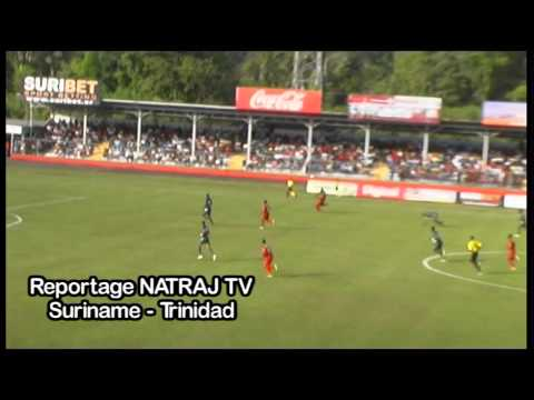 SVB Suriname Nationaal elftal voetbal  Dean Gorree Paramaribo