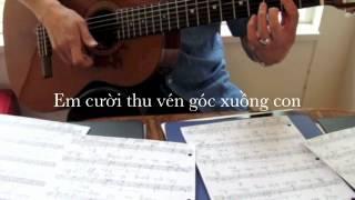 Bến Nước Cù Lao. Guitar Boléro ! Poem: Hồ Thanh Nhã. Music: davincivo