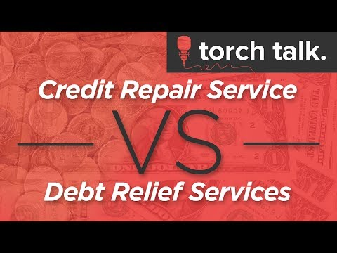 Debt Relief vs. Credit Repair: What's the Difference?