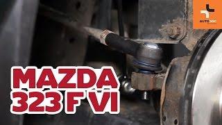 Kuinka korvata Raidetangon Pää MAZDA 323 F VI (BJ) - opetusvideo