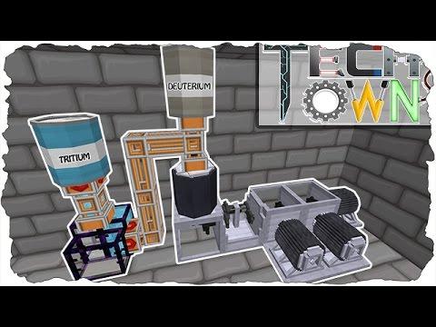 Minecraft TechTown - DEUTERIUM & TRITIUM HERSTELLUNG (PART: 9) #59 | CastCrafter