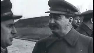 """1937, Московская область, Икша, лагерь НКВД """"Тов.Сталин осмотрел строительство канала Москва-Волга"""""""