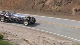 Jay Leno on Mulholland Highway  3/13/2010