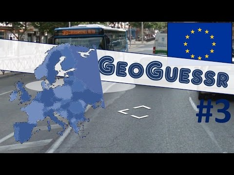 GEOGUESSR #3 Perfect Score! Lucky in Madrid in European Map