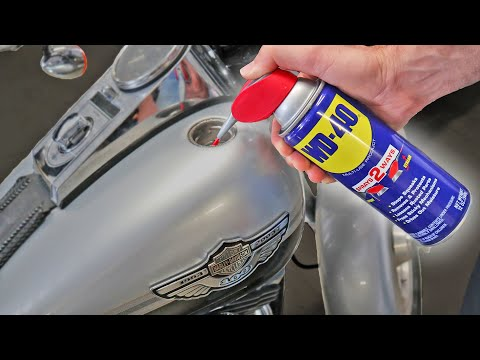 The One WD-40 TRICK Every Motorcycle Rider NEEDS TO KNOW