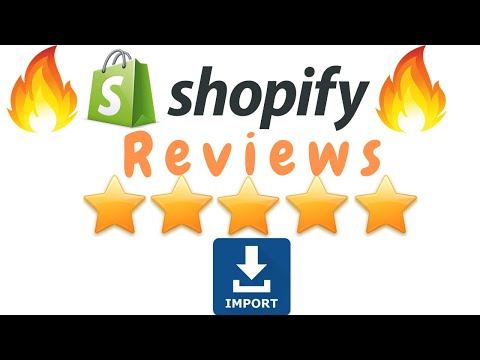 2019 How To Import 5 Star Reviews In Your Shopify Store  - Tutorial thumbnail