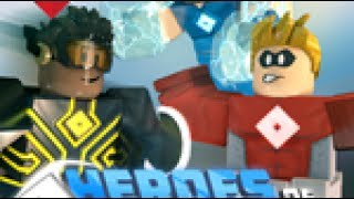 NEW GAME ON ROBLOX!!!! HEROES OF ROBLOXIA (FACECAM!!)