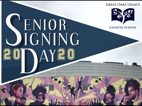 Great Oaks Legacy Charter School Virtual Senior Signing Day