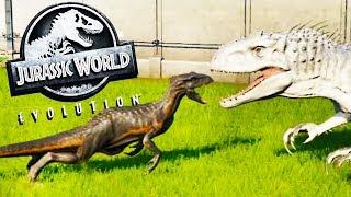 INDORAPTOR vs the INDOMINUS REX! - Jurassic World Fallen Kingdom DLC - Jurassic World Evolution