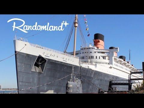 Disney's Forgotten Cruise Ship - The Queen Mary in Long Beach - Randomland!