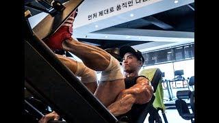 개근질닷컴 보디빌딩 세계챔피언 설기관 하체 운동 / Bodybuilding World Champion Ki Kwan Seol Lower Bod