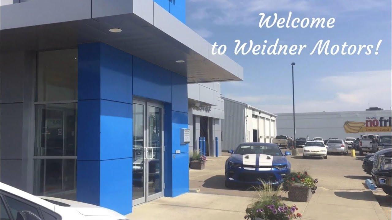 Welcome to Weidner Motors!
