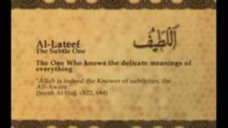 Names of Allah - Al Lateef
