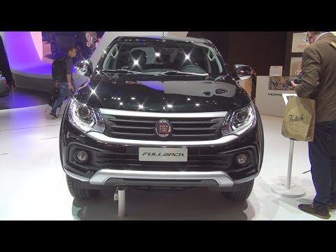 Fiat Fullback 2.4 Diesel 180 hp (2017) Exterior and Interior in 3D