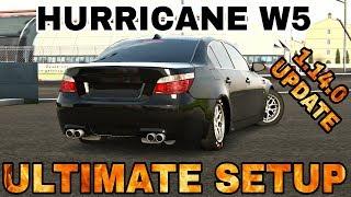 Hurricane W5 Ultimate Setup + Test Drive! (BMW M5 E60) | CarX Drift Racing 1.14.0 Update!