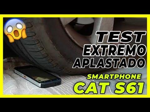 CAT S61 Smartphone - TEST EXTREMO (COCHE, LAVADORA)