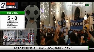 World Cup 2018: Fans Eye View (TAPE)