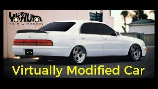 1991 Toyota Crown Virtual modification (Car modification)