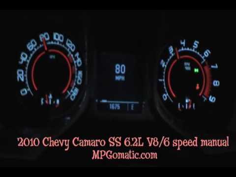 2010 Camaro SS 62 V8 060 MPH  YouTube