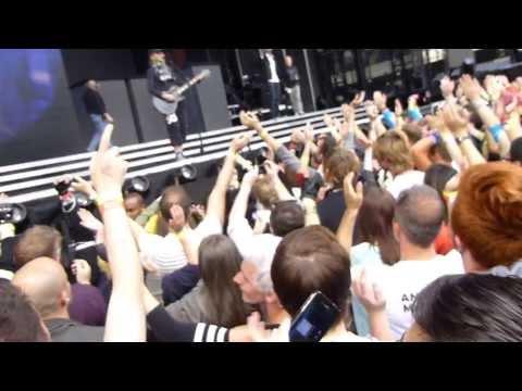 Madonna MDNA Tour soundcheck - Turn up the radio  - Murrayfield Stadium, Edinburgh By Arek