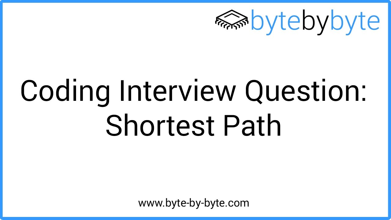 Interview Question: Shortest Path