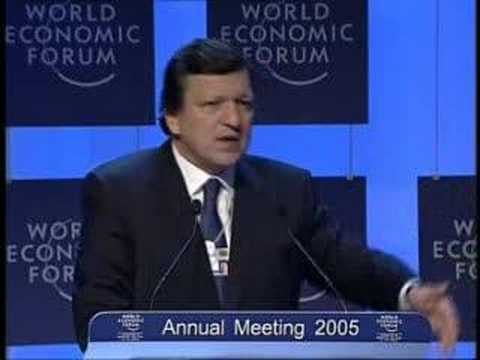 Davos Annual Meeting 2005 - Jose Manuel Barroso