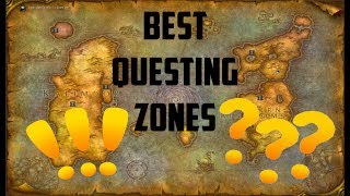 Classic WoW: Best Questing Zones