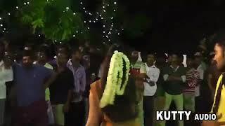 புளிப்பா புளியங்கா செம்ம மாஸ் குத்தாட்டம் போடும் நடிகை-Dasara Disco Dance-Dasara Videos