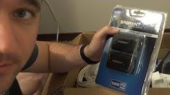 Testing an HDMI through Ethernet Extender.