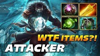 Attacker Kunkka - WTF ITEM BUILD?! - Dota 2 Pro Gameplay
